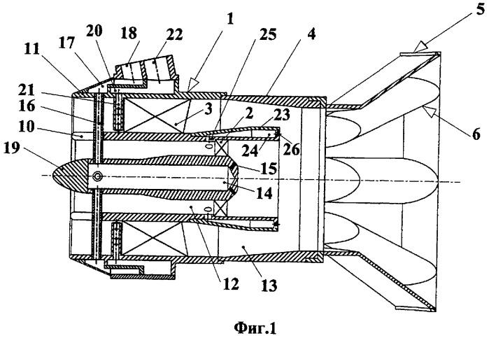 Камера сгорания предварительного смешения газотурбинной установки