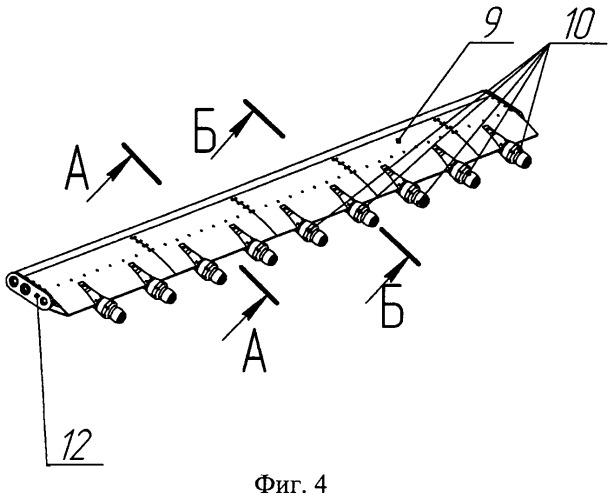 Устройство для имитации условий обледенения при стендовых испытаниях авиационных газотурбинных двигателей в термобарокамере с присоединенным трубопроводом