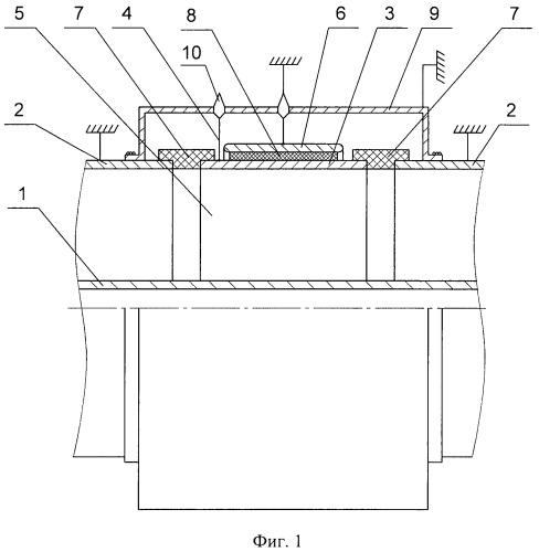Емкостный делитель напряжения для герметизированных комплектных распределительных устройств