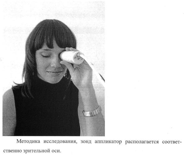 Способ оценки степени гидратации стекловидного тела глаза