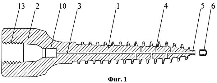 Транспедикулярный винт для выполнения стабилизирующих операций на позвоночнике при недостаточности минеральной плотности костной ткани