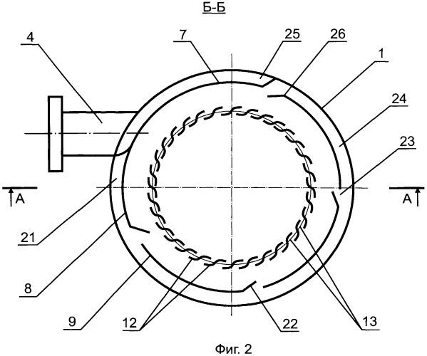 Сепаратор газожидкостный вихревого типа