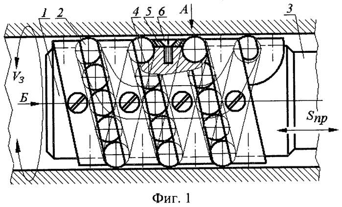 Устройство для раскатывания отверстий с непрерывным качением шариков