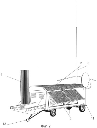 Мобильная система автономного электропитания