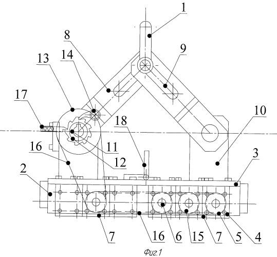 Грузозахватное устройство на постоянных магнитах