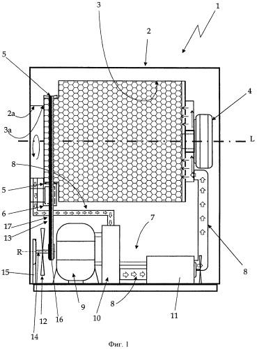 Бытовое сушильное устройство для белья