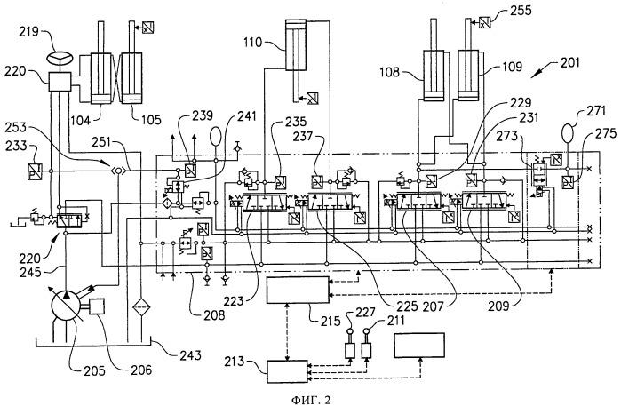 Система амортизации, содержащая ее рабочая машина и способ амортизации орудия рабочей машины при ее перемещении