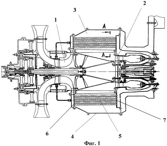 Газотурбинная энергетическая установка с рекуперацией тепла