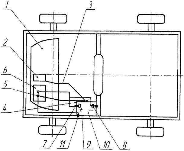 Термоизоляционное устройство облегчения пуска двигателя внутреннего сгорания