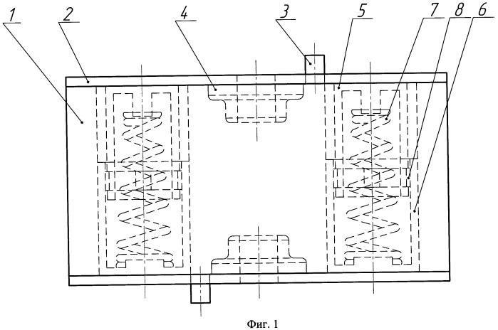 Виброизолятор с постоянной частотной характеристикой