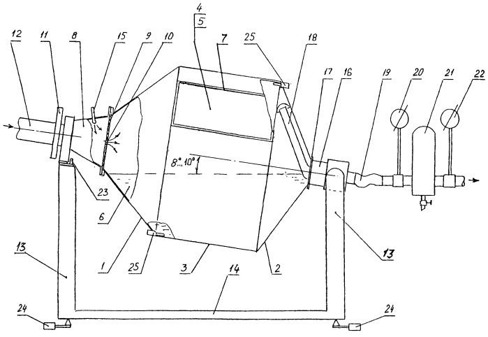 Сушилка для сыпучих диэлектрических материалов