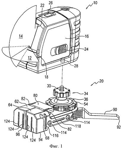 Портативный опорный лазер и принадлежности для лазера