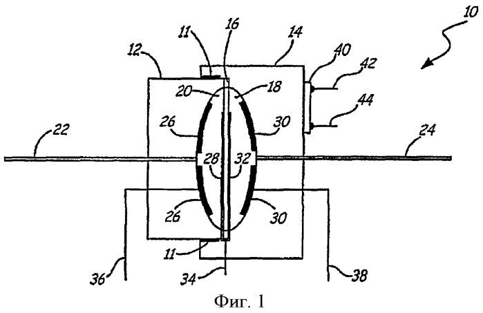 Датчик давления из спеченной керамики, форма которой близка заданной