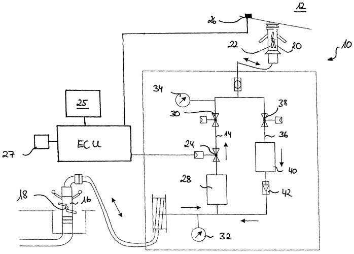 Устройство для заправки топливом системы топливных баков воздушного судна и способ заправки