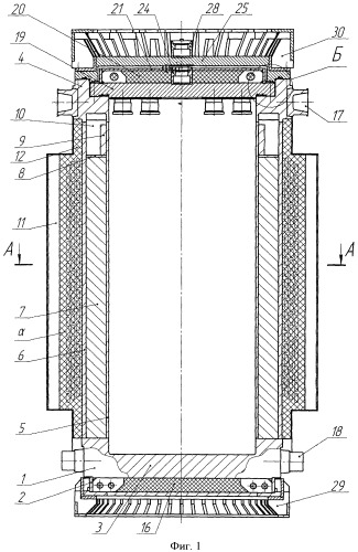 Контейнер для транспортирования отработавшего ядерного топлива