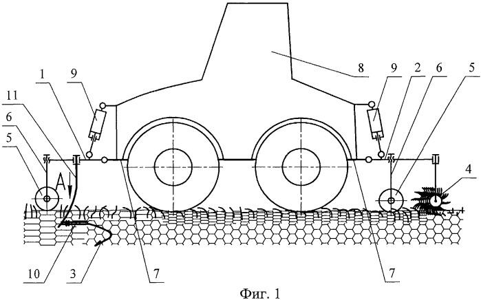 Способ борьбы с уплотнением почвы движителями сельскохозяйственных тракторов