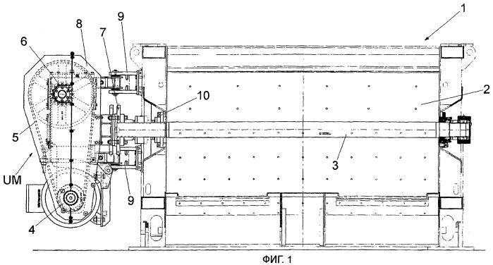 Смеситель для бетона и аналогичных смесей с возможностью легкого и быстрого обслуживания