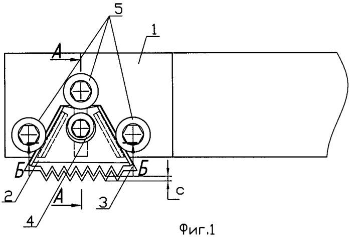 Сборная резьбовая головка для планетарного формообразования внутренней резьбы