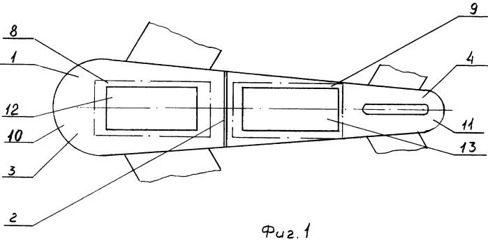Авиационный контейнер для эвакуации пассажиров
