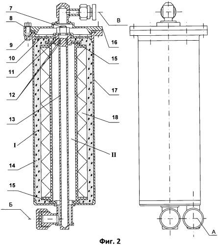 Способ сепарации жидкости из газожидкостного потока в гермообъекте и устройство для его осуществления