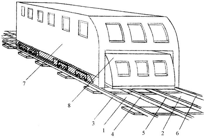 Подвижная единица железнодорожного транспорта (варианты) и способ ее эксплуатации