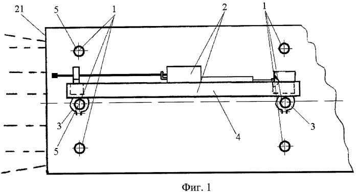 Сборно-разборное устройство для обуривания забоев при проходке горизонтальных горных выработок