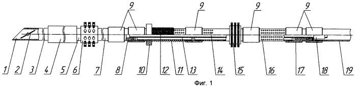 Устройство для очистки стенок эксплуатационной колонны и забоя скважины