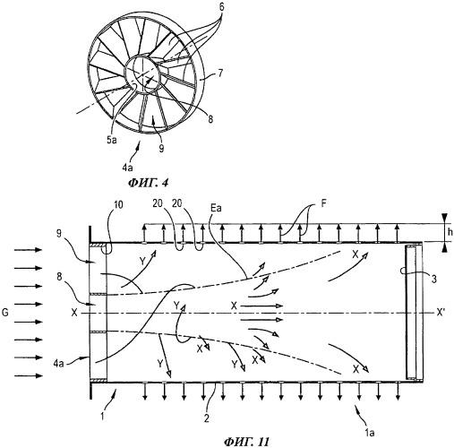 Устройство и способ стабилизации давления и скорости потока газовой смеси, подаваемой в беспламенную цилиндрическую горелку