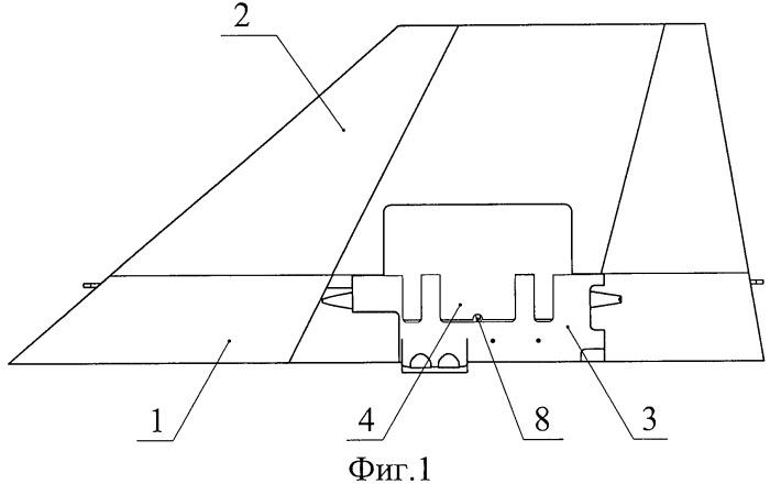 Складная аэродинамическая поверхность беспилотного летательного аппарата