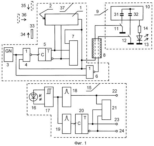 Адаптивный датчик дистанционного контроля изделий
