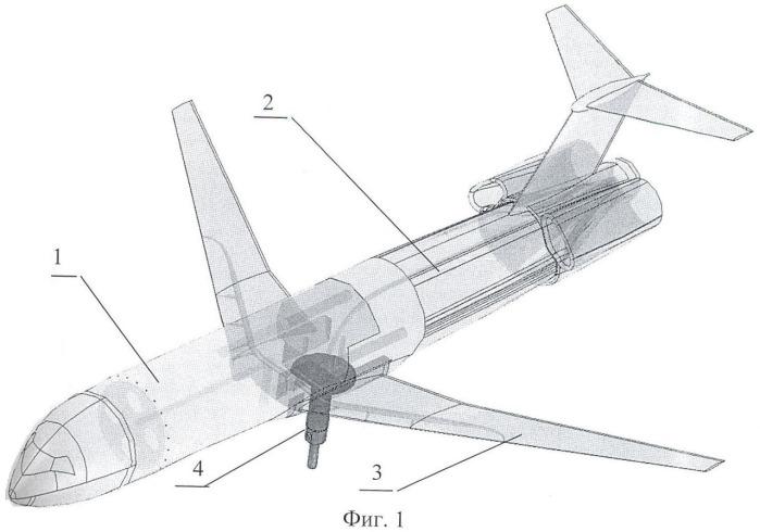 Аэродинамическая модель самолета из фотополимерного материала