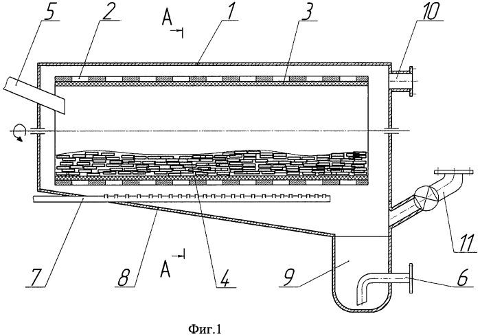 Барабанная мельница для переработки облученного или бракованного ядерного топлива