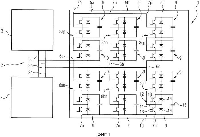 Активный фильтр с многоуровневой топологией