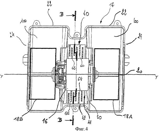 Электровентиляторный агрегат улучшенного охлаждения