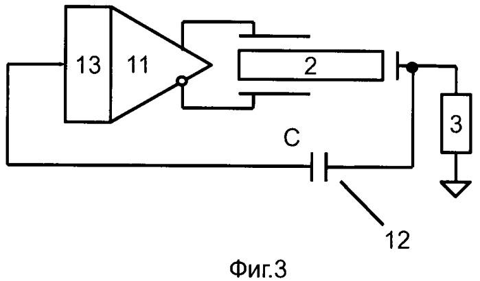 Автогенераторная схема для возбуждения пьезоэлектрического трансформатора
