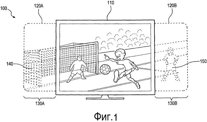 Адаптивное воспроизведение телевизионного содержимого, основанное на дополнительных кадрах содержимого