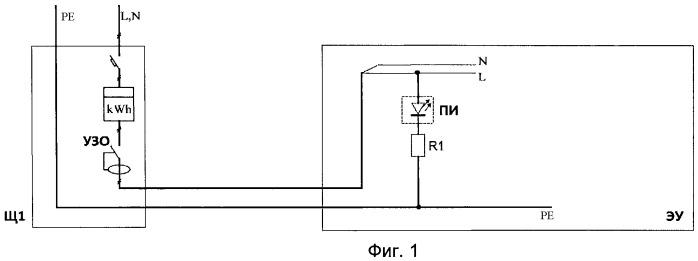 Способ предотвращения развития пожара электроустановки