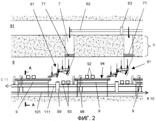 Подземный рудосепарационный горно-обогатительный комплекс