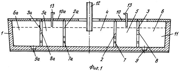 Конструкция двухручьевого ковша с камерами для плазменного подогрева жидкого металла