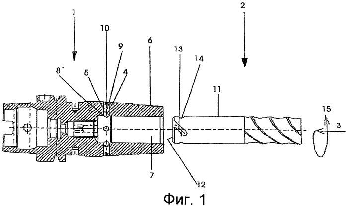 Стопор, предотвращающий вытягивание инструментов из держателей с гнездом для инструмента