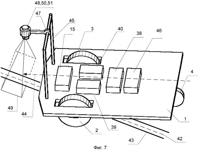 Мобильный робот с автономной навигационной системой (варианты)