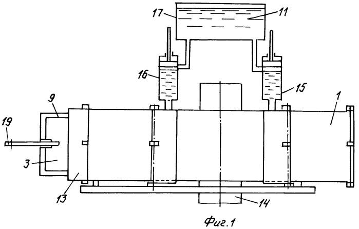 Устройство для производства п-образных каркасов опалубочных секций