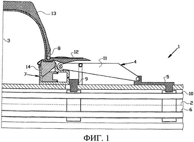 Сборочный барабан для сборки невулканизированной шины