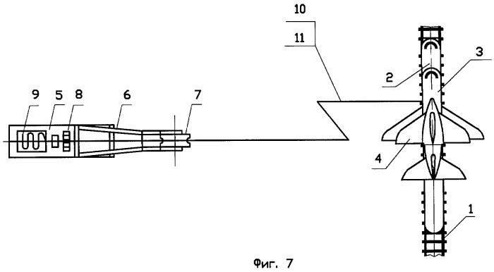 Способ вывода в космос космических объектов с помощью многоразовой системы и система для вывода в космос космических объектов
