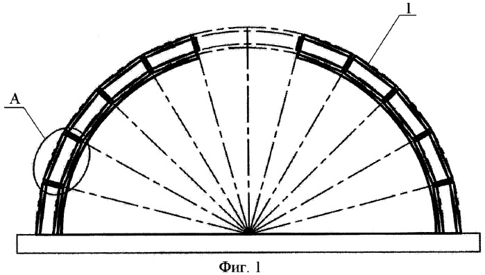 Способ возведения куполообразных зданий