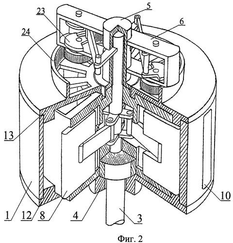 Роторный преобразователь энергии и двигатель внешнего сгорания с его использованием