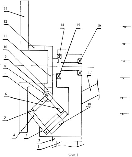 Ротор ветроэлектрогенератора сегментного типа