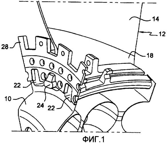 Диск ротора вентилятора газотурбинного двигателя и газотурбинный двигатель