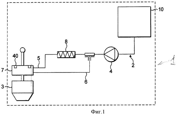 Управляющее устройство с пережимным клапаном машины для приготовления напитков