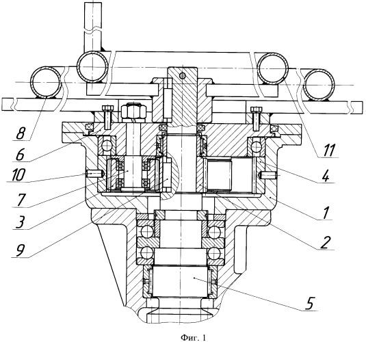 Двухскоростной ручной привод трубопроводной арматуры